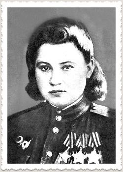 Нечепорчукова (в замужестве Ноздрачёва) Матрёна Семёновна